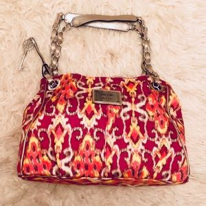 Nicole Miller Patterned Handbag